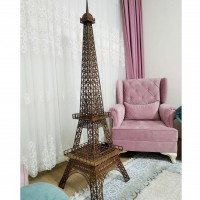 Ahşap Eyfel Kulesi Minyatür Maketi 190 cm