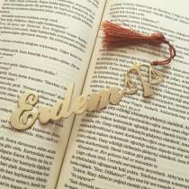Kişiye Özel İsimli Kitap Ayracı