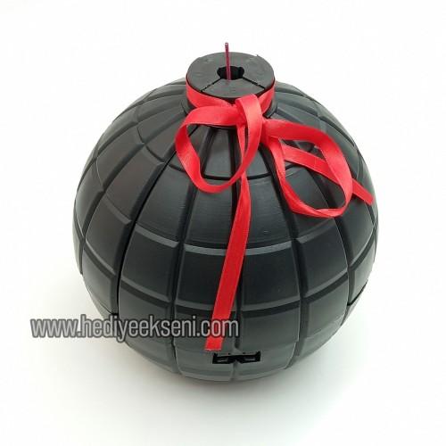 Patlayan Bomba - El Bombası Şeklinde Kutu